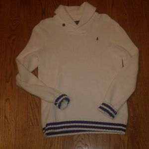 Other - Boys Polo Ralph Lauren ivory sweater XL